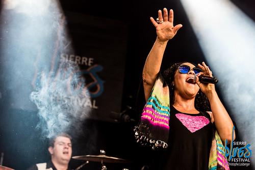 Dawn Tyler Watson & Ben Racine Band @ Sierre Blues Festival