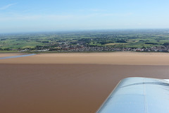 Knott End (QSY on-route) Tags: knott end lancashire landing eurostar ev97 gcevs aerial photography