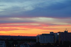 Sunset Filderstadt Airport STUTTGART Cityline - Bonlanden NH Hotel (eagle1effi) Tags: sunset filderstadt airport stuttgart cityline bonlanden nh hotel g7 g7xii canon powershot ps abenddämmerung dusk iso400 jpeg fullauto canonpowershotg7xmarkii x mark ii