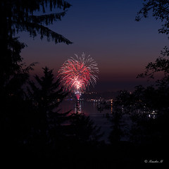 July 4th (Masako Metz) Tags: july 4th 2017 newport oregon fireworks yaquina bay
