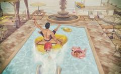 MadPea Summer Hunt (CalebBryant) Tags: secondlife sl madpea hunt summer beach pool