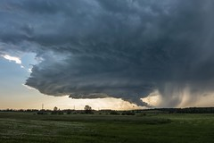 Warned LP Supercell, Entwistle, Alberta (WherezJeff) Tags: supercell thunder storm warned entwistle alberta canada timelapse