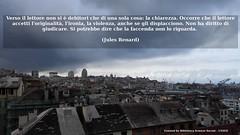 (in)CITAZIONI (Biblioteca Scienze Sociali UNIGE) Tags: lettore letture citazioni citazione biblioteca biblioteche genova porto panorama tetti grigio nuvole università
