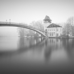 Isle of Youth (Jaques10000) Tags: nikon d750 berlin city urban isle water winter monochrome blackwhite longexposure