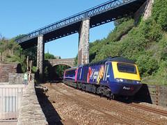 43027 Teignmouth (Marky7890) Tags: gwr 43027 class43 hst 1a78 teignmouth railway devon rivieraline train