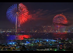 Big Bay Boom 4th of July! (Sam Antonio Photography) Tags: 4thofjuly sandiego downtown night city skyline travel water sky celebration firework bright urban holiday light festival skyscraper colorful color victory fireworks pyrotechnics building architecture landmark cityscape celebrate metropolitan scenic july independence liberty illumination tourism destinations colorburst holidayfireworks fireworksshow fireworksdisplay holidayfireworksdisplay holidayfireworksshow 4th samantoniophotography