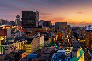 Tokyo sunset @ Shinjuku