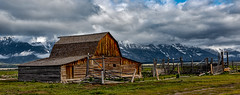 Moulton Barn, Jackson Hole, WY (Reggie Root) Tags: moultonbarn moosewy mormonrow jacksonhole