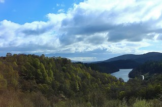 A glimpse of Loch Drunkie from the Duke's PassThe Trossachs