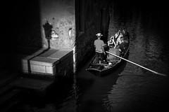 Ombre e Luci - Light and Shadows (Explored) (Immacolata Giordano) Tags: venezia venice italia italy ombre luci lights shadows veneto gondola gondoliere