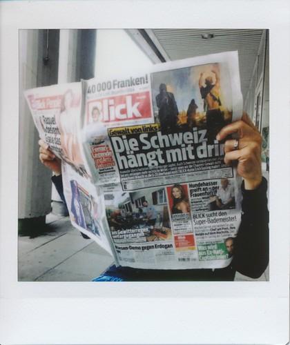 Die Schweiz haengt drin
