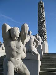 Gustave Vigeland Sculpture Arrangement (geneward2) Tags: gustave vigeland oslo norway