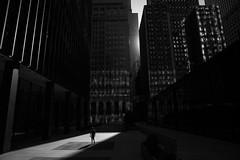 (Paul is Moody) Tags: street urban blackandwhite mono walking loneperson city chicago streetshot