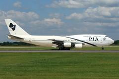 Pakistan International Airlines (PIA) - Boeing 747-367 - AP-BFY (Andy2982) Tags: airliner pakistaninternationalairlinespia boeing747367 apbfy cn23920690 manchesterairport