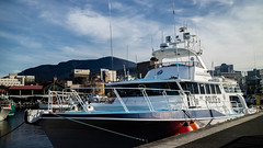 With those conditions I could work for the police (Val A[d]venture) Tags: valaventure valadventure voyage tasmania tasmanie hobart australie australia aussie backpacker canon travel summer2017 boat police harbour tassie