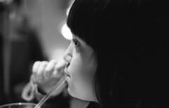Happy Hour, welcome Tessar... (Dimi71) Tags: mamiya mamiya1000 analog film kodak kodakfilm selfdeveloped selfdeveloping selfdevelop bw blackandwhite bn biancoenero vintagecamera tx400 trix400 trix slr 135 portrait carlzeiss zeiss carlzeissjena jena tessar 50mm 50 50mmf28 5028