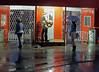 Calgary Stampede In the Rain (Sherlock77 (James)) Tags: calgarystampede streetphotography people man woman rain
