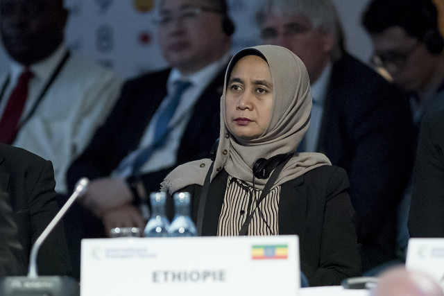 Balkis Kusumawati at the Open Ministerial session
