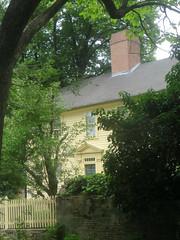 Shunned House Through Trees (edenpictures) Tags: providence rhodeisland theshunnedhouse hplovecraft 135benefitstreet stephenharrishouse