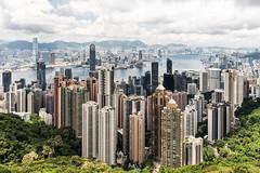 Hong Kong (drasphotography) Tags: hongkong hong kong china skyline sky travel travelphotography reise reisefotografie architecture architektur victoria harbour drasphotography nikon d810 nikkor2470mmf28 peak city cityscape urban stadt città globetrekker victoriapeak