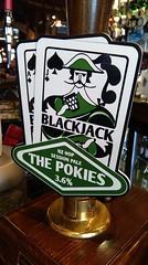 the pokies (werewegian) Tags: beer werewegian pumpclip realale pokies blackjack brewery jun17