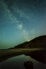 Midsummer Milky-Bay (Edward Wolohan) Tags: summer midsummer solstice milkyway nightsky beach brittasbay wicklow ireland astronomy astrophotography astrophoto space galaxy earthandspace