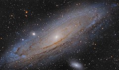 M31 - Andromeda Galaxy (DeepSkyDave) Tags: astrophotography astrofotografie astronomy astronomie night sky nacht himmel stars sterne deepsky cosmos kosmos natur nature long exposure langzeitbelichtung low light wenig licht canon eos 6d astrodon mod bright colors m31 andromeda galaxy