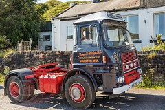 Last Motormans Run June 2017 023 (Mark Schofield @ JB Schofield) Tags: road transport haulage freight truck wagon lorry commercial vehicle hgv lgv haulier contractor foden albion aec atkinson borderer a62 motormans cafe standedge guy seddon tipper classic vintage scammell eightwheeler