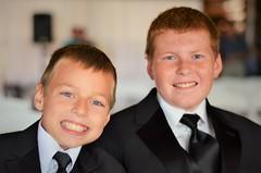 Men In Black (michael.veltman) Tags: andy dan we do wedding black suit tie