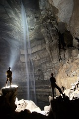 Enigma Cave | 246' waterfall | Tennessee (Jim Fox) Tags: outdoorexperience caver cave waterfall tennessee
