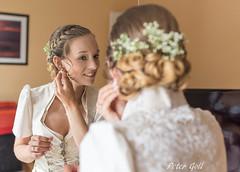 Getting ready (thx for 4M views - pego28) Tags: erlangen germany wedding gettingredy braut tracht portrait woman frau reflectionblond