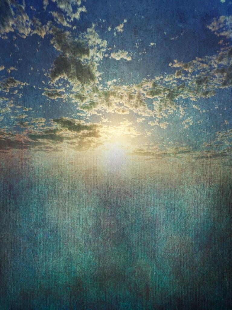 фото: Sky clouds blue experiment