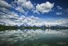 Jackson Lake Reflection 1 (Jason Blalock) Tags: nationalpark nationalparks park parks nationalparkservice nps wyoming grandteton grandtetons grandtetonnationalpark grandtetonsnationalpark gtnp lake jacksonlake reflections reflection clouds