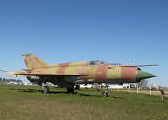 Fishbed (ƒliçkrwåy) Tags: mig21 mig21sm mig mikoyan gurevich military aircraft aviation preserved museum soviet fighter panevezys