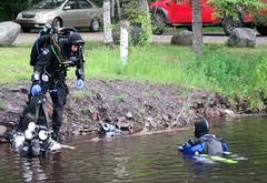 Explorers (chemsuiter) Tags: quarrydive technicaldiver drysuits rebreather