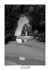 As Catedrais (xosedc Afotando) Tags: bw ribadeo españa galicia spain roca rock lascatedrales ascatedrais playa agua canon 7d2 tokina