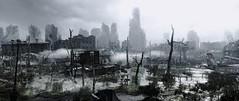 """Postcards from dead city"" # 3 (Pheabus2K9) Tags: metroredux metrolastlight moscow ruin postapocalypse city monochrome reshade"