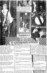 Generation X / The Heartbreakers interview (stillunusual) Tags: moreon fanzine musicfanzine punkfanzine punkzine magazine musicmagazine punk punkrock generationx johnnythunders heartbreakers sarahshosubi crystalclear 1970s 1977