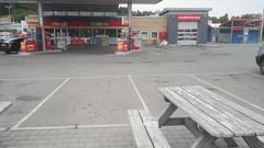 Bookcrossing release (zimort) Tags: bok book bookcrossing wildrelease gjøvik bensinstasjon gasstation