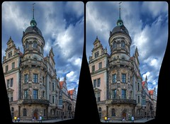 Stadtschloß Dresden 3-D / CrossView / Stereoscopy / HDRaw (Stereotron) Tags: saxony sachsen dresden elbflorenz streetphotography urban citylife architecture baroque barock europe germany crosseye crosseyed crossview xview cross eye pair freeview sidebyside sbs kreuzblick 3d 3dphoto 3dstereo 3rddimension spatial stereo stereo3d stereophoto stereophotography stereoscopic stereoscopy stereotron threedimensional stereoview stereophotomaker stereophotograph 3dpicture 3dglasses 3dimage hyperstereo twin canon eos 550d yongnuo radio transmitter remote control synchron kitlens 1855mm tonemapping hdr hdri raw 3dframe fancyframe floatingwindow spatialframe stereowindow window