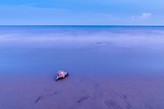 In front of the sea (=Heo Ngốc=) Tags: summer sky seawater sun water wave travel cloud blue beautiful sea sand paradise natural ocean outdoor vietnam longexposure