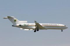TU-VAO Boeing 727-2Y4(RE)(WL) Republique De Cote D'Ivoire (pslg05896) Tags: tuvao boeing727 cotedivoire stn egss stansted