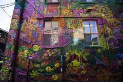 Under the sea (aerojad) Tags: eos canon 80d dslr 2017 city urban art artinpublicplaces streetart publicart mural murals graffiti vacation travel wanderlust graffitialley toronto canada vibrant colorful