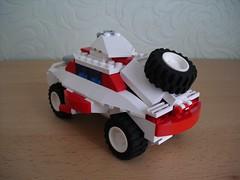 Żubr - Armoured Car (Śląski Hutas) Tags: lego moc bricks futuristic scifi poland polska military armour