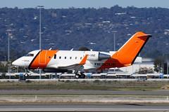 VH-XNE AMSA Bombardier CL-600-2B16 Challenger 604 (johnedmond) Tags: perth ypph australia bombardier challenger cl600 amsa aviation aircraft aeroplane airplane bizjet sel55210 55210mm sony rescue ilce3500