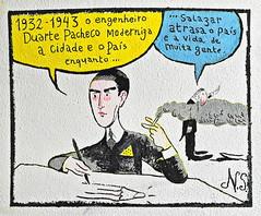 História de Lisboa de Nuno Saraiva - Rua Norberto de Araújo - 1932 (Markus Lüske) Tags: portugal lisbon lisboa lissabon kunst art arte wandmalerei mural muralha graffiti graffito street streetart urbanart urban nuno saraiva nunosaraiva lueske lüske historia history geschichte história