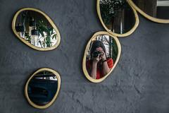 Separate but equal (Melissa Maples) Tags: antalya turkey türkiye asia 土耳其 nikon d3300 ニコン 尼康 nikkor afs 18200mm f3556g 18200mmf3556g vr summer hotel akra barut restaurant asmani me melissa maples selfportrait woman brunette reflection photographer mirror