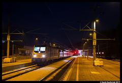 Lokomotion 187 312, Kitzbühel 04-02-2017 (Henk Zwoferink) Tags: kitzbühel tirol oostenrijk at henk zwoferink lomo lm lokomotion 187 312 traxx bombardier railpoo railpool rpool schnee express euro rail traction compnay rtc