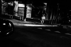DSCF4786 (Marco Ascrizzi) Tags: fuji x70 bw milan milano street night