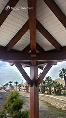 Construcción en madera (NavarrOlivier - Estructuras de madera - Pergolas y) Tags: carpinteria madera cubierta vigaslaminadas navarrolivier restaurante pergola estructurademadera chiringuito villlaricos almeria
